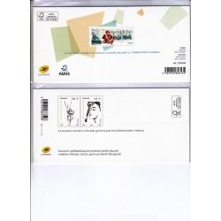 BLOCS SOUVENIRS N°157 et  N°159 NEUFS** sous blister - L'ART DES GENTS