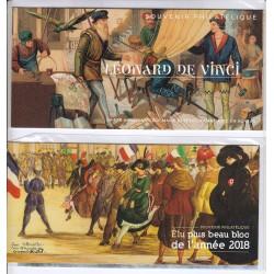 BLOCS SOUVENIRS N°157 et N°158 NEUFS** sous blister - L'ART DES GENTS