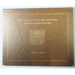 VATICAN EURO - Coffret BU 2011 BENOIT XVI