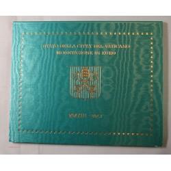 VATICAN EURO - Coffret BU 2013 BENOIT XVI