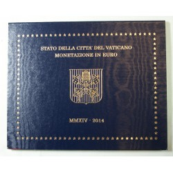 VATICAN EURO - Coffret BU 2014 Pape FRANCOIS