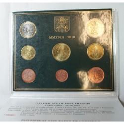 VATICAN EURO - Coffret BU 2018 Pape FRANCOIS