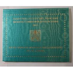 VATICAN EURO - Coffret 2 euro 2013 Commemorative BU