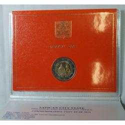 VATICAN EURO - Coffret 2 euro 2016 Commemorative BU - 200 ans GENDARMERIE