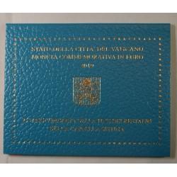 VATICAN EURO - Coffret 2 euro 2019 Commemorative BU CHAPELLE SISTINE