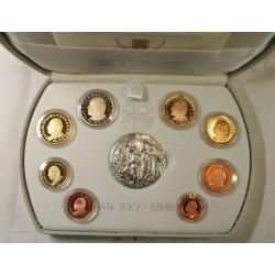 VATICAN EURO - belle épreuve Coffret complet 1 centime à 2 euro 2003