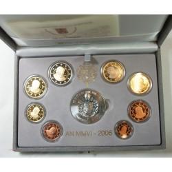 VATICAN EURO - belle épreuve Coffret complet 1 centime à 2 euro 2004