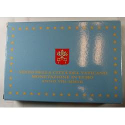 VATICAN EURO - belle épreuve Coffret complet 1 centime à 2 euro 2012