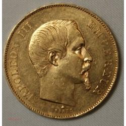 NAPOLEON III - 50 Francs or 1855 BB - SUP