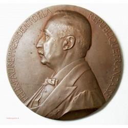 Medaille FELIX FAURE PRESIDENT 1895 - 67.6 mm JC CHAPLAIN