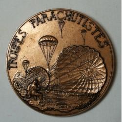 Médaille troupes Parachutistes (courage, force et foi)