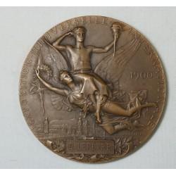 Médaille exposition universelle International 1900 par JC CHAPLAIN