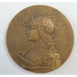 Médaille Agriculture République Française signée GRANDHOMME