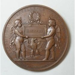 Médaille NAPOLEON III EXPO. UNIV. 1867, par H. PONSCARME