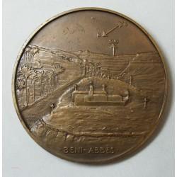 Médaille C. DE FOUCAULD 1858-1916 BENI-ABBES (ALGERIE), par ANIE MOUROUX