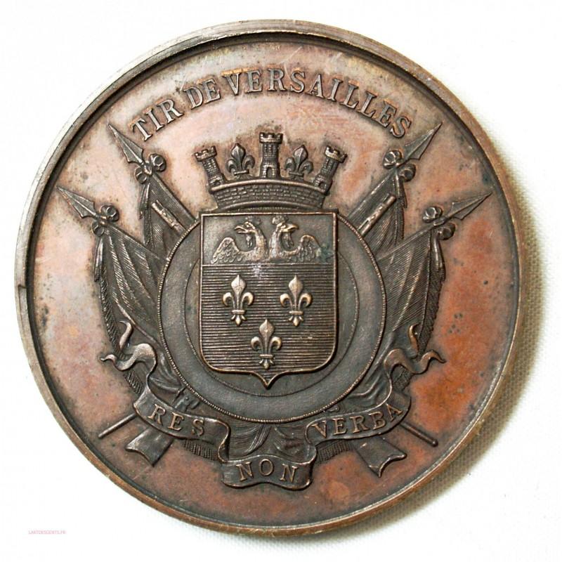 Médaille TIR DE VERSAILLES - RES NON VERBA