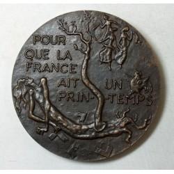 Médaille Denyse CLAIROUIN Femme de lettre 1945 par R. JOLY