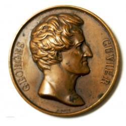 Médaille Hommage à Georges CUVIER  par A. BOVY