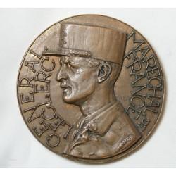 Médaille Bronze MARECHAL LECLER par JAECER 191grammes