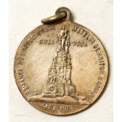 MEDAILLE Roumanie Alexandru Ioan I Cuza jasi 1912