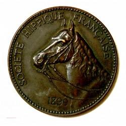 Médaille Société Hippique Française - Examens D'équitation Paris 1899