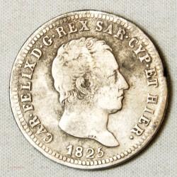 Italie - Charles Félix 2 lire 1825 Turin