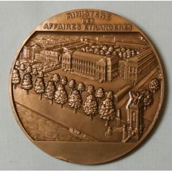 Médaille Robert SCHUMAN ministre des affaires étrangères 1969