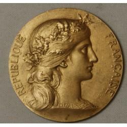 Médaille Ravitaillement aux armées 194-1918 argent doré