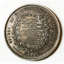 MEDAILLE G. GARIBALDI, guerre d'indépendance Itaienne 1859