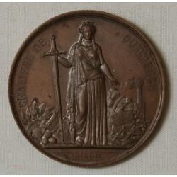 Médaille visite de Napoléon III à Lille en 1867 par J.C. Chaplain