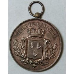 Médaille Ville de BAPAUME Cyclisme 1893