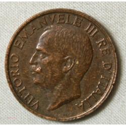 Italie 10 cents Vittorio Emanuele 1919 rare