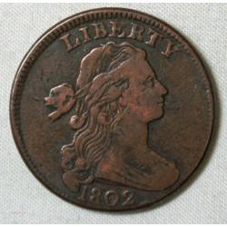 USA - Large 1 cent 1802 LIBERTY qualité