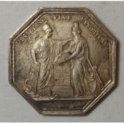 JETON BANQUE DE FRANCE AN VIII poinçon Abeille