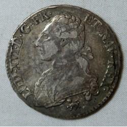 LOUIS XVI demi écu aux branches d'olivier 1792 A Paris TTB