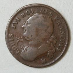 LOUIS XVI 12 deniers 1792 MA à voir