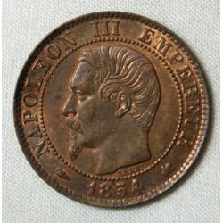 NAPOLEON III 5 centimes 1854 K bordeaux SUP COTE 65€