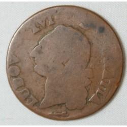 LOUIS XVI Sol à l'écu 1784 Pau - rare -