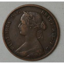 GRANDE BRETAGNE - Half penny 1863
