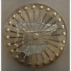 Médaille argent Demi final coupe monde football 1982 France/Espagne