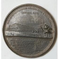 MEDAILLE London 1851 Great exhibition par Allen & Moore