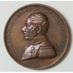 MEDAILLE SUISSE Général DUFOUR NOV.1847 par A.BOVY