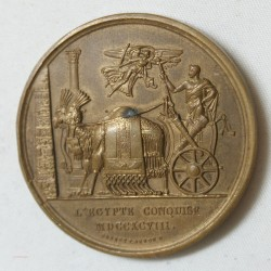 Médaille Bronze Napoléon Ier Egypte conquise superbe