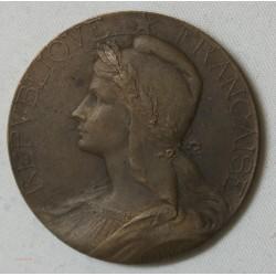 Médaille bronze Agriclute par Abel La Fleur