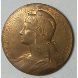 Médaille bronze Agriclute par Abel La Fleur 46mm