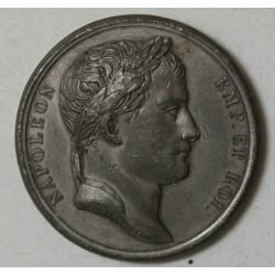 MEDAILLE NAPOLEON Ier EMPEREUR Réunion de l'étrurie 1808 par DENOND