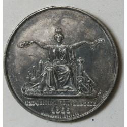 MEDAILLE EUGENIE IMP., EXPO UNIVERSELLE 1855 par CAQUE.F. Massonnet