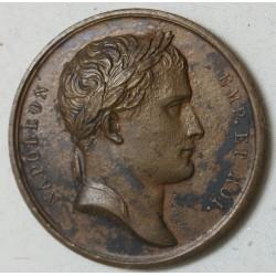 Médaille Bronze Napoléon Ier conquète de Naples