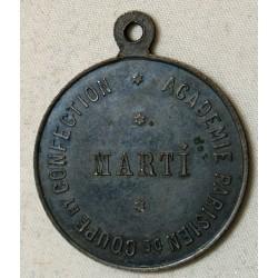 Médaille ESPAGNE Barcelone – CONCOURS DE MODE 1899 - MARTI