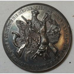Médaille Sté de répression du braconnage dans arrondissement de REIMS